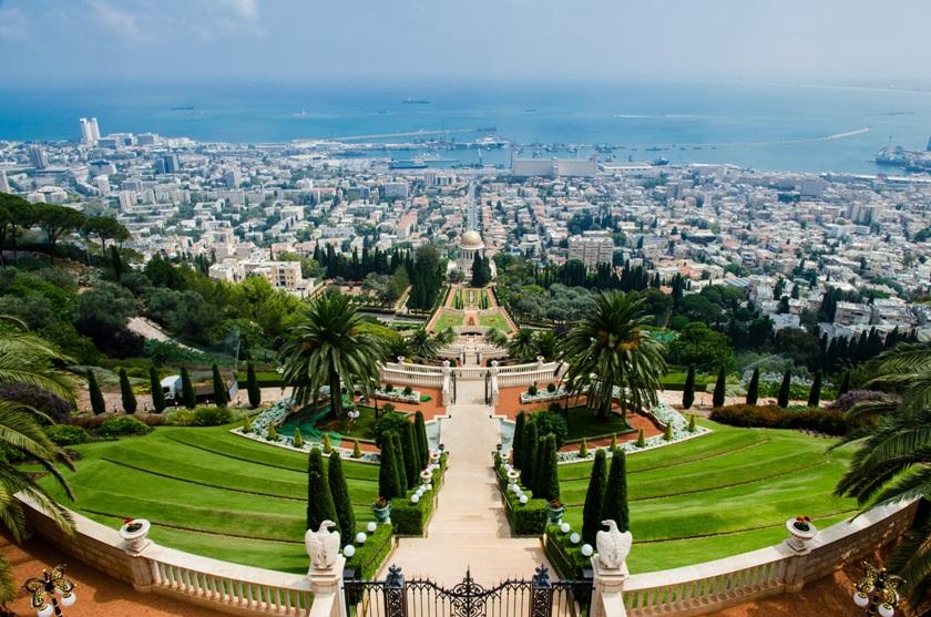 Gradinile Bahai - Israel